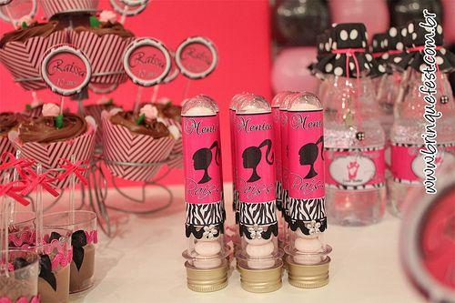 Tubetes Barbie fashion