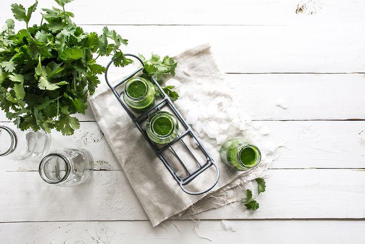 СУПЕР зеленый смузи для завтрака