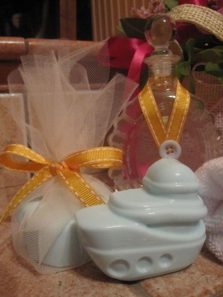 Χειροποίητο σαπούνι αλόης για βαπτιστικό σετ λαδιού