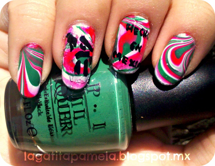 Pamela's Nails: Inspired by your country nail art-31 Day Challenge