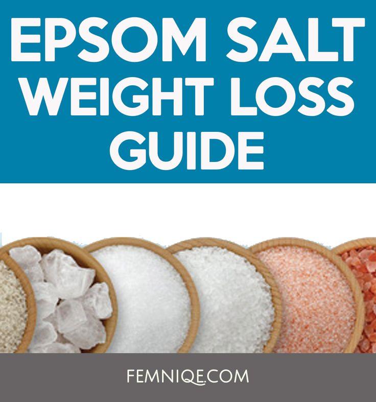 Epsom Salt Drinking Losing Weight
