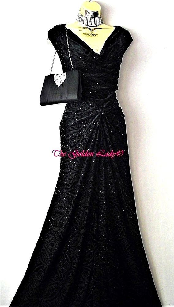 03400efdd9c7 Bnwt Monsoon Gorgeous Black Xena Sequin Sparkly Maxi Evening Party Dress  Size 22  fashion  clothing  shoes  accessories  womensclothing  dresses  (ebay link)