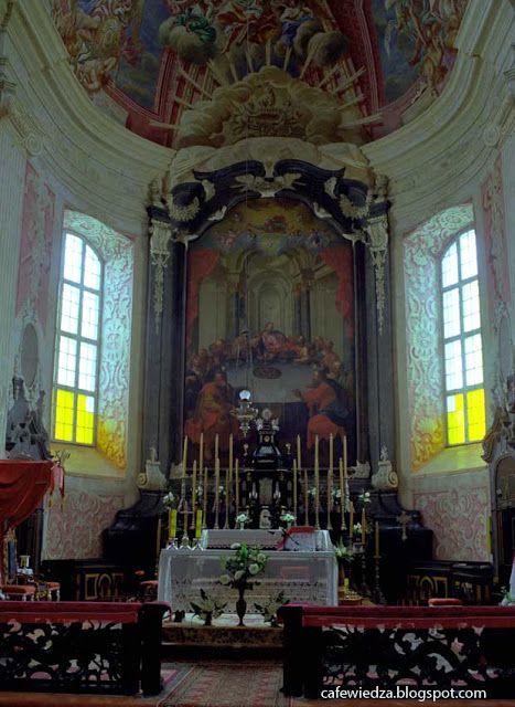 Baroque church in Nesvizh, Belarus.