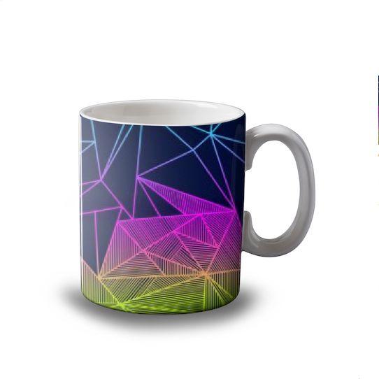 Bailey Rays mug   #fimbis #ArtRookie #abstract #geometric #shapes #style #styleblog #fashion #fashionblogger #fashionblog #styleblogger #cyan #mug #magenta #coffeemug #tea #coffee #ukdesign #irishdesign #irishart #fblogger #kitchen #home #ceramic #navy