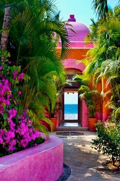 Las Alamandas, Mexican Riviera - so pretty