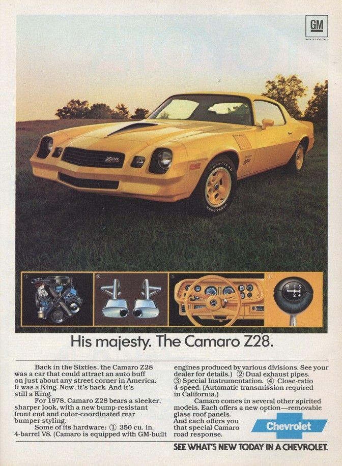239 best Camaro Ads & Memorabilia images on Pinterest | Ads, Chevy ...