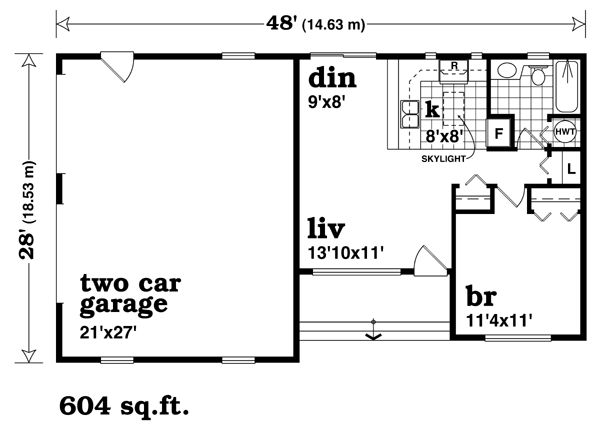 9 best images about mother in law quarters floor plan on for Garage plans with apartment one level