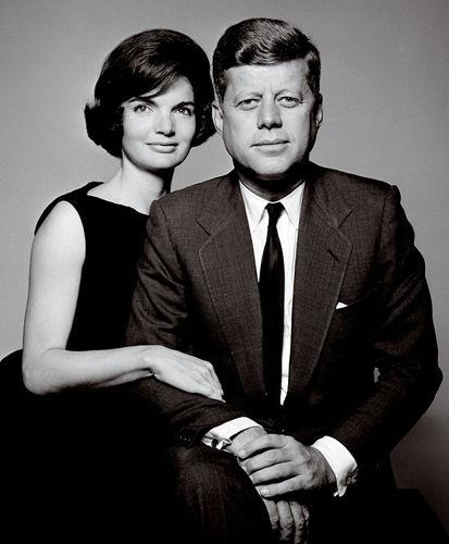 JOHN F. KENNEDY JFK & WIFE JACKIE UNITED STATES USA PRESIDENT