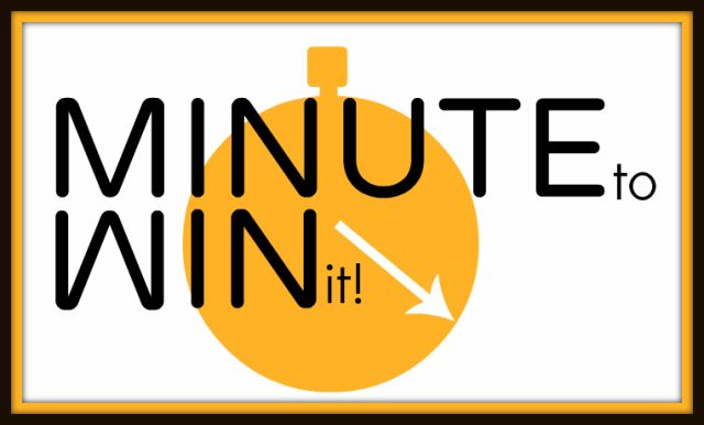 Minute to Win it ideas for team-building or chapter retreats.