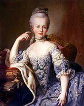 María Antonia Josefa Juana de Habsburgo-Lorena —en alemán, Maria Antonia Josepha Johanna von Habsburg-Lothringen—, más conocida bajo el nombre de María Antonieta de Austria, fue una archiduquesa de Austria y reina consorte de Francia y de Navarra.