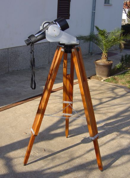 Homemade Large Tripod Telescope Project Pinterest