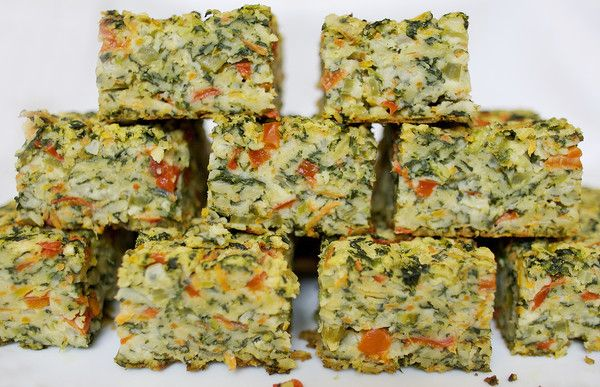 Vegetable Kugel Ingredients: •  10 ounces frozen spinach, thawed and drained •  2 onions, chopped • 1 stalk celery, chopped • 1 red pepper, chopped • 3 carrots, grated • 1 cup mushroom, chopped • 1...