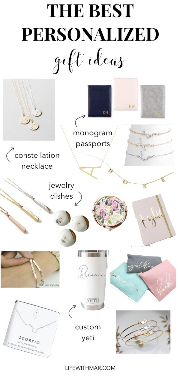 Best Personalized Gift Ideas For Her Because Everyone Likes To