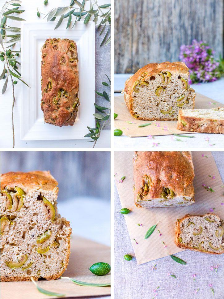Cake Sal Ef Bf Bd Aux Olives Feta Et Tomate
