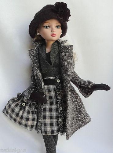 """""""OOAK FRESH FOR FALL! FOR 16: ELLOWYNE. MADE BY SSDESIGNS   eBay"""" #repin #fashion #dolls"""