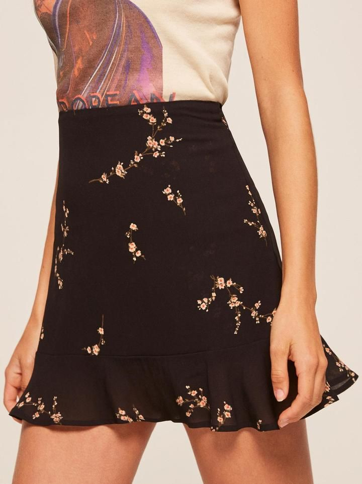 The Reformation Silvia Skirt