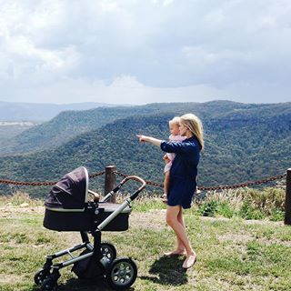 Back in my hometown with my girls. Nothing beats the smell of Eucalyptus trees.  #Australia #Summer #Love #Throwback #MotherhoodThroughInstagram #CurrentElliott #Chloe #MyJoolz