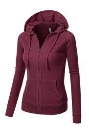 Sudadera casual con capucha colores para mujer