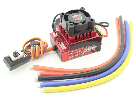 Turnigy Trackstar 120A Turbo Szenzoros Brushless 1/12 – 1/10 szabályzó