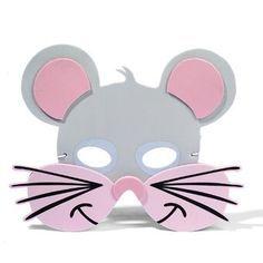 Máscara de ratón en fomy   idisfraz, ideas para tu disfraz