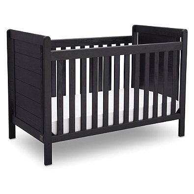 Both Rustic And Relaxed In Style The Serta Cali Convertible Crib Is An Attractive Piece That Grows As Your Child Does Featuring 4 Adjule Mattress