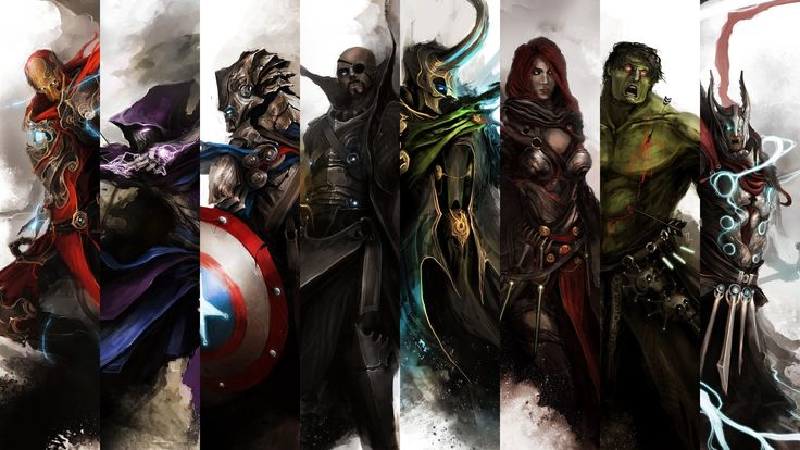 Jefford Bush - the avengers image free - 2560x1440 px