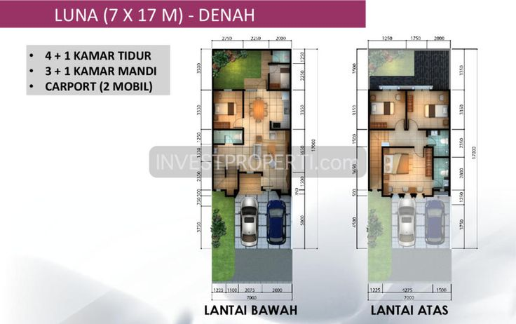 Tipe LUNA 7x17 m2 cluster Leora Alam Sutera. #leorasitaraalamsutera