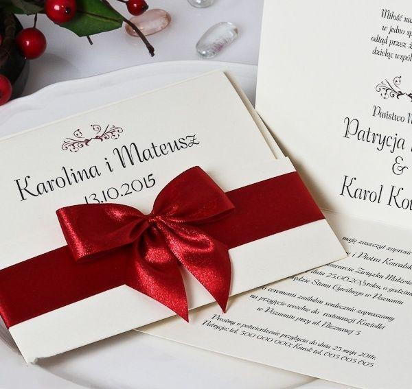 Zaproszenia ślubne Gorzów powinny być dokładnie przemyślane. Często zaproszenia na ślub określa się mianem wizytówki całego wesela