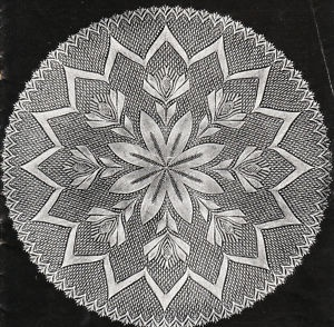Knitting Patterns Round Shawl : 1000+ images about Knitted Doilies on Pinterest Picasa, Doily patterns and ...