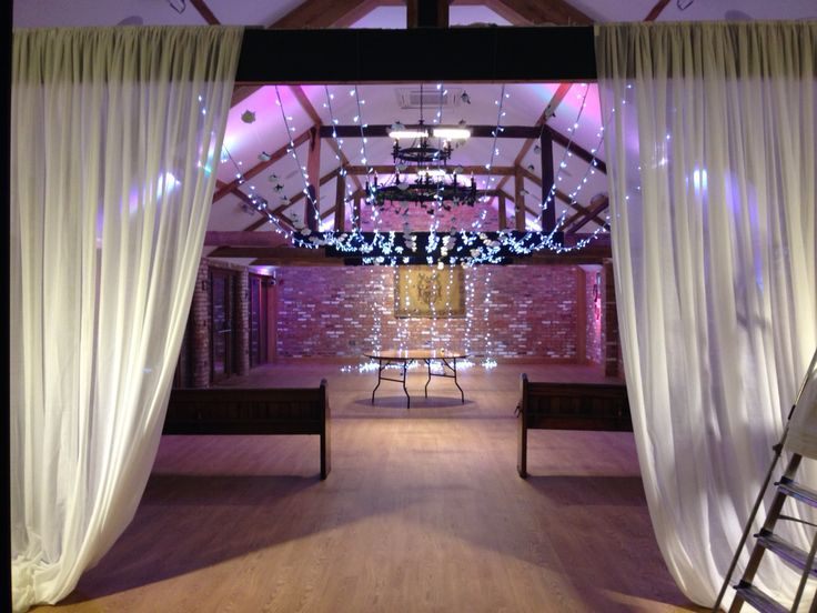 Venue dressing by Fabric Theatre. Venue - Keythorpe Manor