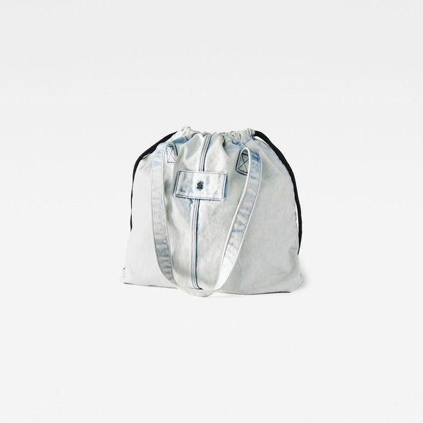 G-Star RAW Luza Bag ($55) ❤ liked on Polyvore featuring bags, handbags, g star raw bag, white bag, woven handbags, woven bag and white purse