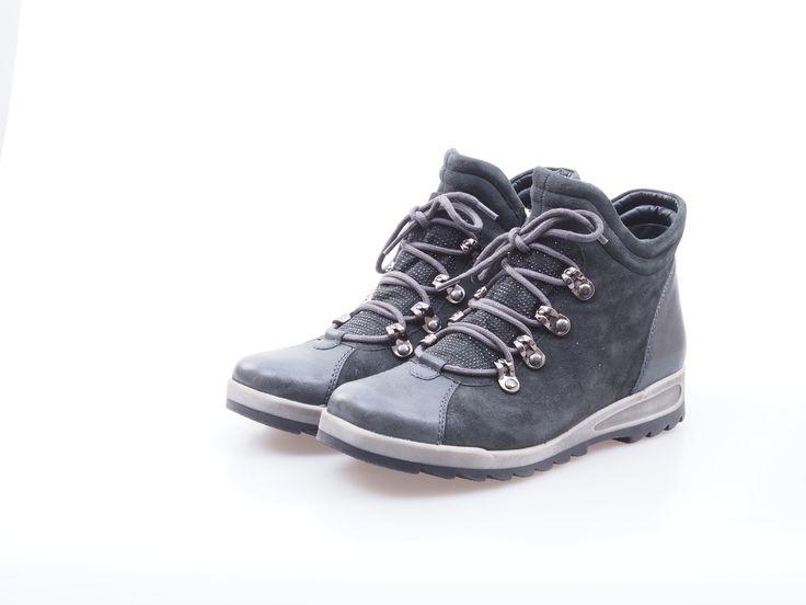 Soňa - Dámska obuv - Šnurovacia obuv - Dámska šnurovacia obuv šedá