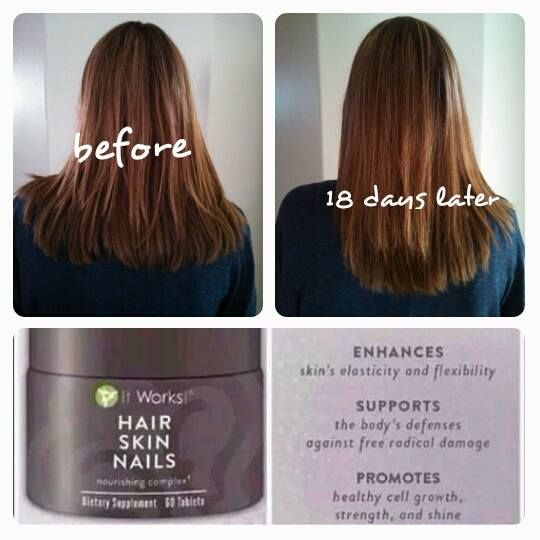 Hair, Skin & Nails is one of our newer products and is simply AMAZING! It has 5,000mg of Biotin in each serving and the results are evident!