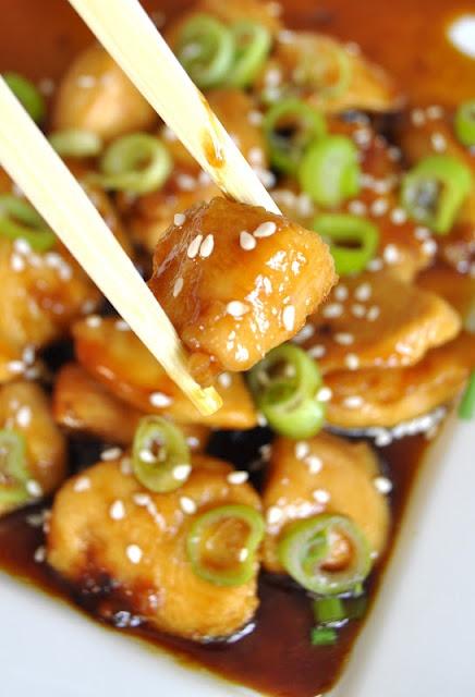 Honning- og soyakylling (Honey soy chicken)