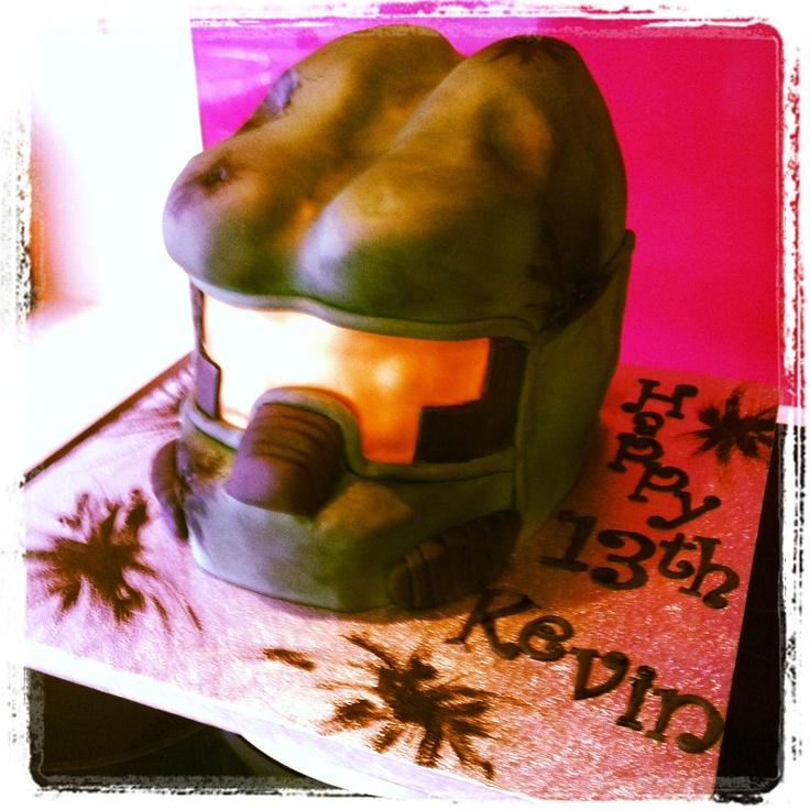 Xbox Halo helmet.
