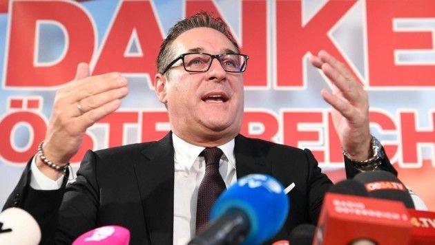 FPÖ-Chef Heinz-Christian Strache (Bild: APA/HELMUT FOHRINGER)