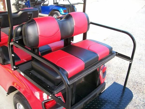 Club Car Precedent Golf Cart Vinyl Seat Covers Front And