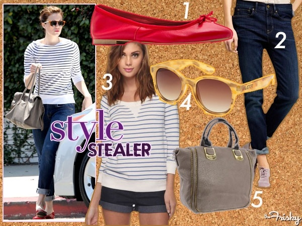 I love Mandy Moore!Mandy Moore'S, Moore'S Chic, Frisky, Style Stealer, Chic Stripes