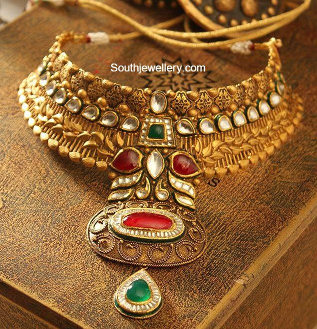 Top 25 Indian Antique Jewellery Designs For Women: South Indian Jewellery
