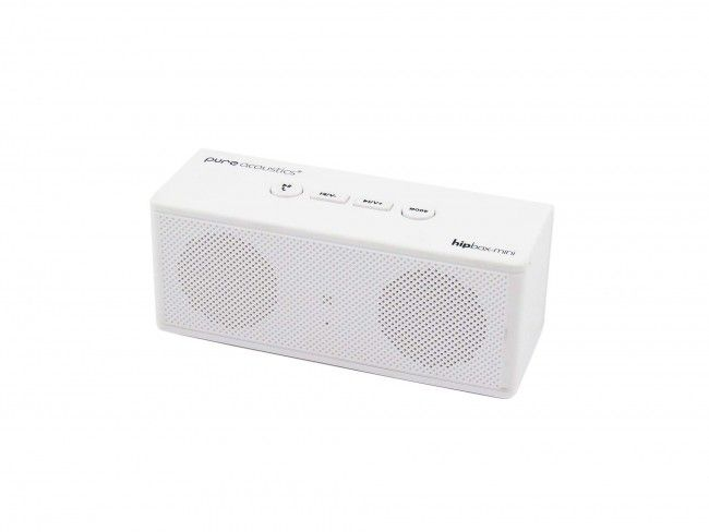 Pure Acoustics Hipbox Mini wit - Radio's met Bluetooth - Radio's - 123platenspeler.nl