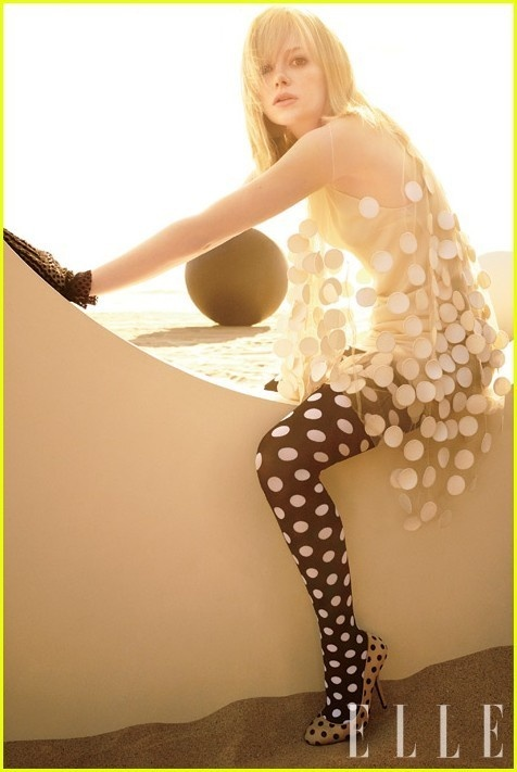 Polka dots, polka dots, and more polka dots: Girls Crushes, Carter Smith, Stella Mccartney, Polka Dots, Make Magazines, Polkadot, Tights, Photo, Emma Stones