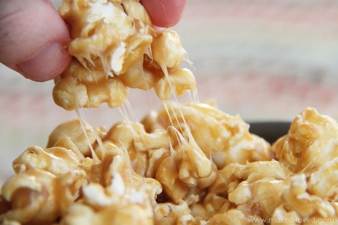 Recipe Re-visited: Chewy Caramel Popcorn