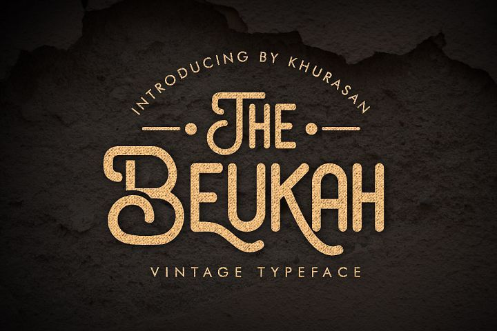 The Beukah (Duo Font) from FontBundles.net