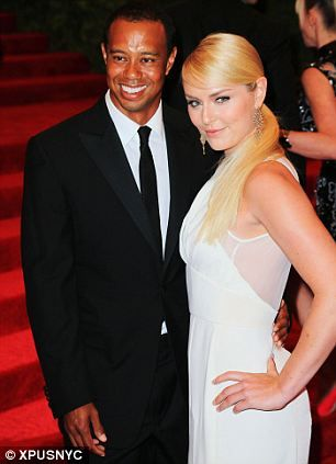 attended a number of events (including the Met Ball at right) with his new girlfriend Olympic skier Lindsey Vonn