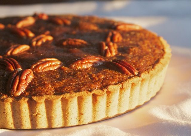 Perfect for Thanksgiving! Paleo Pecan Pie - Paleo Spirit
