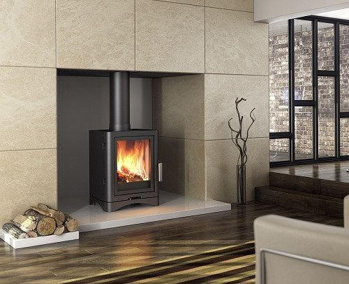 Broseley eVolution stove - Broseley eVolution UK - Broseley eVolution stoves - 85.5% efficiency - 5kw