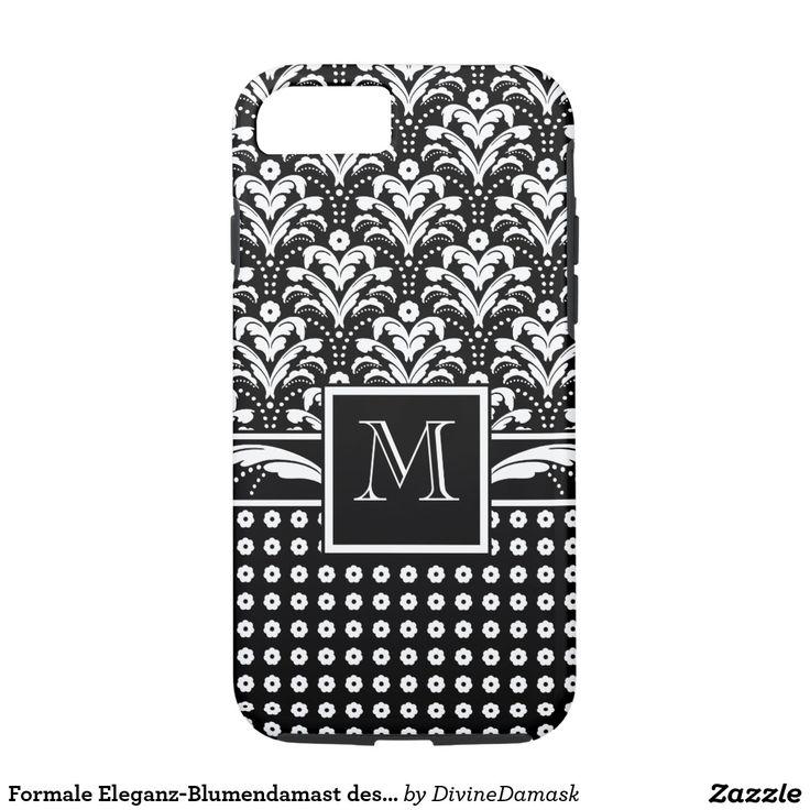 Formale Eleganz-Blumendamast des Kunst-Deko-30s iPhone 7 Case