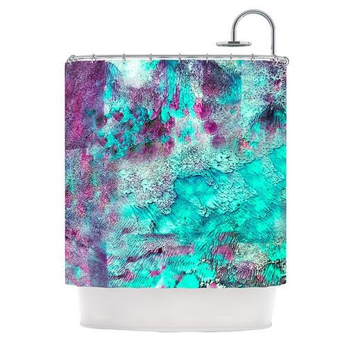 Found it at Wayfair - Think Outside The Box Polyester Shower Curtain