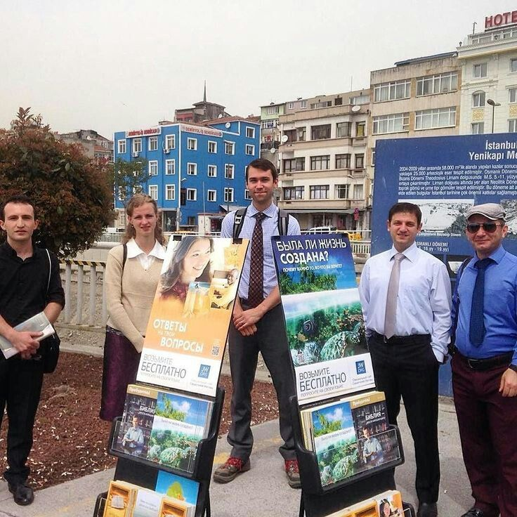 Public Witnessing in Istanbul, Turkey