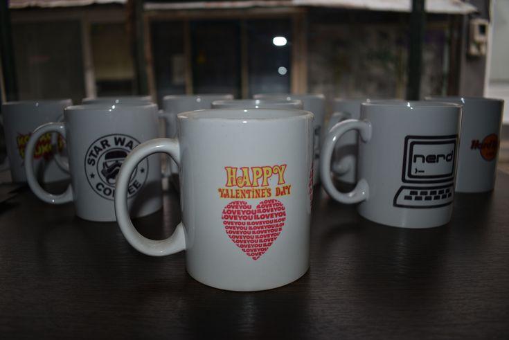 Happy Valentine's Day Mug by GeeSpot
